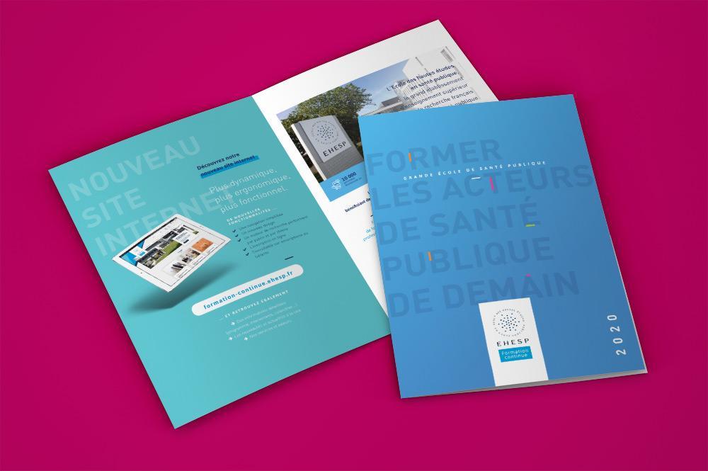 Graphisme de la brochure EHESP