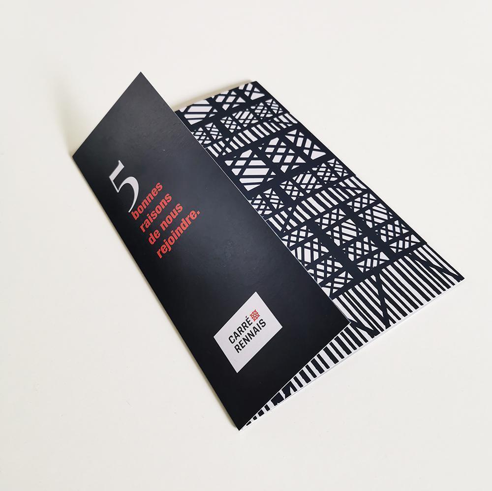 Brochure du Carré Rennais ©La riveraine