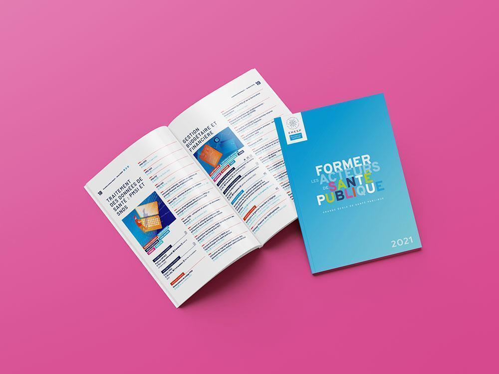 Création graphique brochure